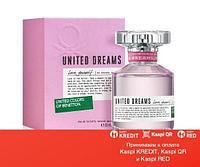 Benetton United Dreams Love Yourself туалетная вода объем 80 мл(ОРИГИНАЛ)
