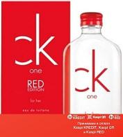 Calvin Klein One Red Edition For Her туалетная вода объем 100 мл (ОРИГИНАЛ)