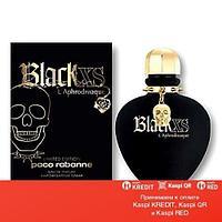 Paco Rabanne Black XS L'Aphrodisiaque for Women парфюмированная вода объем 80 мл Тестер(ОРИГИНАЛ)