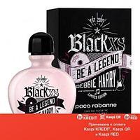 Paco Rabanne Black XS Be a Legend Debbie Harry туалетная вода объем 80 мл Тестер(ОРИГИНАЛ)