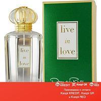 Oscar de la Renta Live in Love парфюмированная вода объем 100 мл тестер(ОРИГИНАЛ)