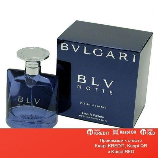 Bvlgari BLV Notte Pour Femme парфюмированная вода объем 75 мл тестер(ОРИГИНАЛ)