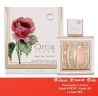 Oros Fleur Pour Femme парфюмированная вода объем 85 мл тестер(ОРИГИНАЛ)