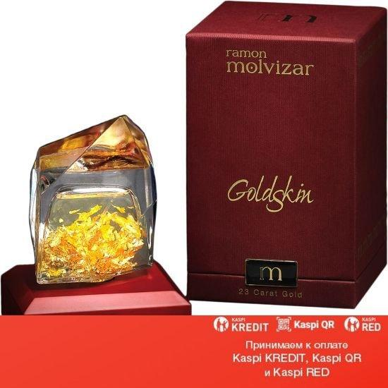 Ramon Molvizar Goldskin парфюмированная вода объем 75 мл тестер(ОРИГИНАЛ)