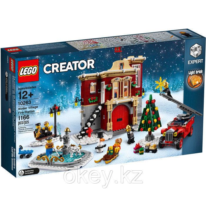 LEGO Creator: Пожарная часть в зимней деревне 10263