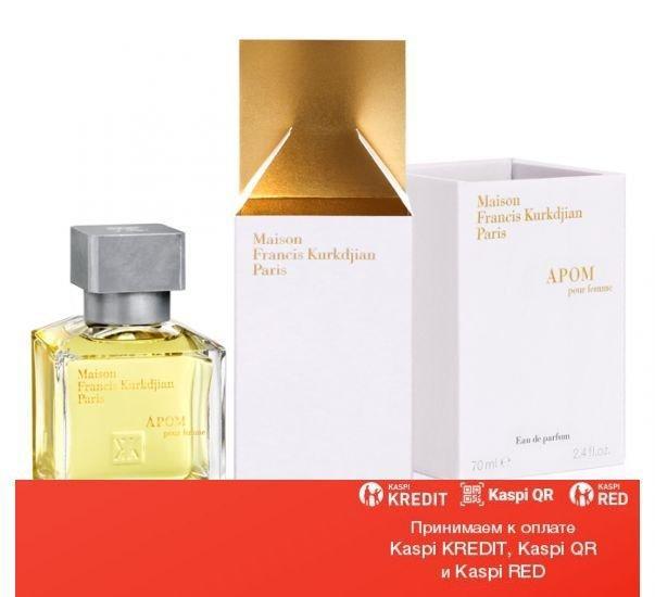 Maison Francis Kurkdjian Apom Pour Femme парфюмированная вода объем 3*11 мл(ОРИГИНАЛ)