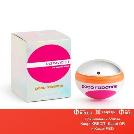 Paco Rabanne Ultraviolet Summer Pop Woman туалетная вода объем 80 мл Тестер(ОРИГИНАЛ)