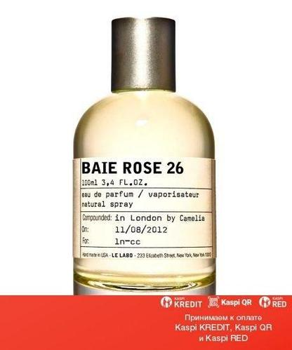 Le Labo Baie Rose 26 парфюмированная вода объем 50 мл (ОРИГИНАЛ)