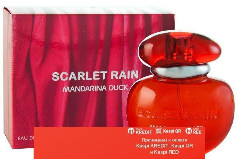 Mandarina Duck Scarlet Rain туалетная вода объем 50 мл тестер(ОРИГИНАЛ)