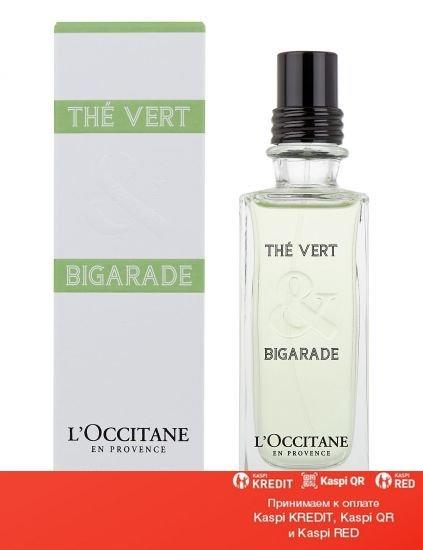 L`Occitane The Vert & Bigarade туалетная вода объем 75 мл тестер (ОРИГИНАЛ)