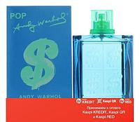 Andy Warhol Pop pour Homme туалетная вода объем 100 мл (ОРИГИНАЛ)