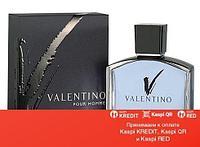 Valentino V Pour Homme туалетная вода объем 100 мл тестер (ОРИГИНАЛ)