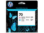 HP C9405A Печатающая головка светло-пурпурная и светло-голубая HP 70 для Designjet Z5200, Z2100, Z3100, Z3200