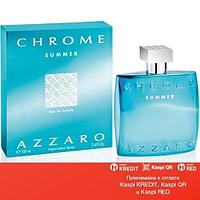 Azzaro Chrome Summer туалетная вода объем 100 мл тестер (ОРИГИНАЛ)