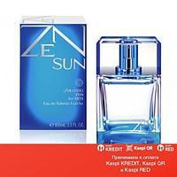 Shiseido Zen Sun Fraiche Man 2014 туалетная вода объем 100 мл (ОРИГИНАЛ)