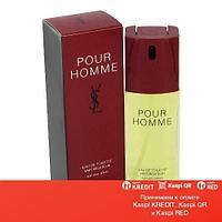 Yves Saint Laurent Pour Homme туалетная вода объем 80 мл Тестер (ОРИГИНАЛ)
