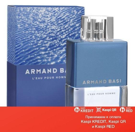 Armand Basi L`eau Pour Homme туалетная вода объем 125 мл тестер (ОРИГИНАЛ)
