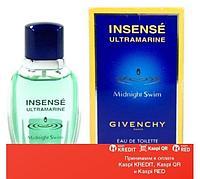 Givenchy Insense Ultramarine Midnight Swim туалетная вода объем 30 мл тестер(ОРИГИНАЛ)