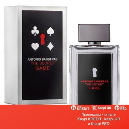 Antonio Banderas The Secret Game туалетная вода объем 100 мл тестер (ОРИГИНАЛ)