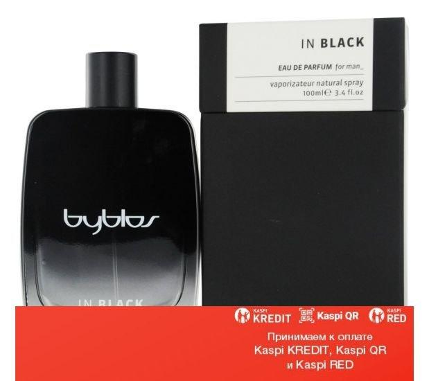 Byblos In Black парфюмированная вода объем 100 мл тестер (ОРИГИНАЛ)