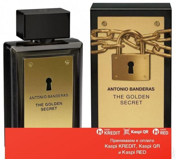 Antonio Banderas The Golden Secret туалетная вода объем 100 мл (ОРИГИНАЛ)