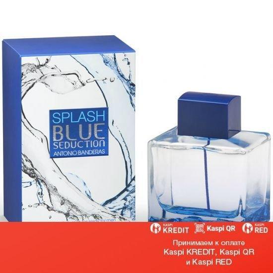 Antonio Banderas Splash Blue Seduction Men туалетная вода объем 100 мл тестер (ОРИГИНАЛ)