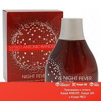 Antonio Banderas Spirit Night Fever for Men туалетная вода объем 100 мл тестер (ОРИГИНАЛ)