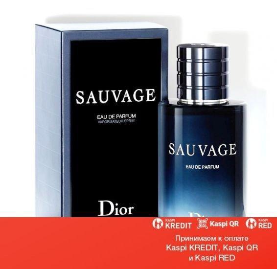Christian Dior Sauvage парфюмированная вода объем 1 мл (ОРИГИНАЛ)