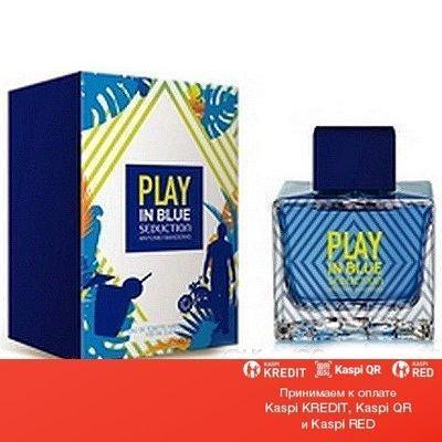Antonio Banderas Play In Blue Seduction For Men туалетная вода объем 100 мл (ОРИГИНАЛ)
