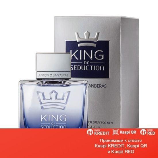 Antonio Banderas King of Seduction For Men туалетная вода объем 80 мл тестер (ОРИГИНАЛ)
