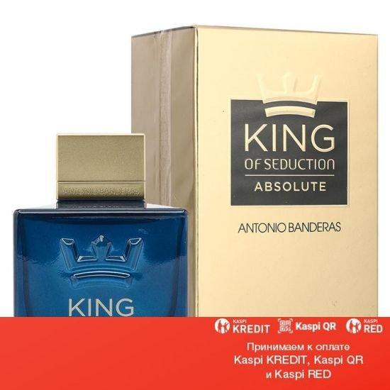 Antonio Banderas King of Seduction Absolute туалетная вода объем 80 мл тестер (ОРИГИНАЛ)