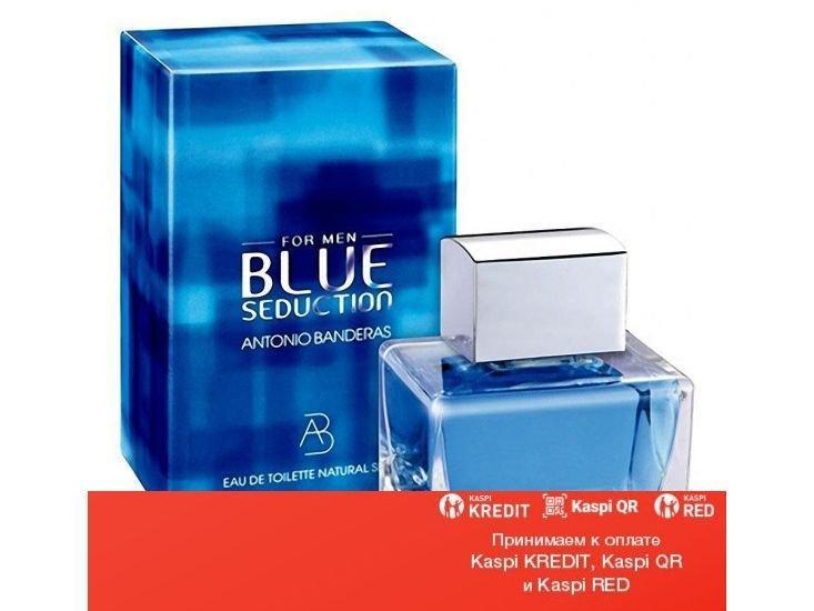 Antonio Banderas Blue Seduction For Men туалетная вода объем 100 мл тестер без спрея (ОРИГИНАЛ)
