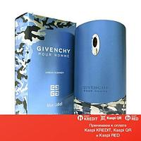 Givenchy Pour Homme Blue Label Urban Summer туалетная вода объем 50 мл тестер (ОРИГИНАЛ)