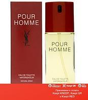 Yves Saint Laurent Pour Homme туалетная вода винтаж объем 50 мл (ОРИГИНАЛ)