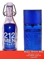 Carolina Herrera 212 H2O Men туалетная вода объем 100 мл (ОРИГИНАЛ)