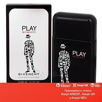 Givenchy Play in the City for Him туалетная вода объем 100 мл Тестер (ОРИГИНАЛ)