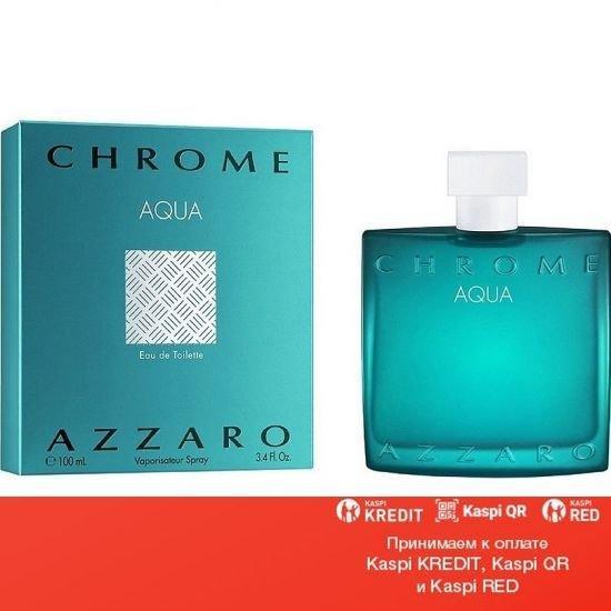 Azzaro Chrome Aqua туалетная вода объем 100 мл тестер (ОРИГИНАЛ)