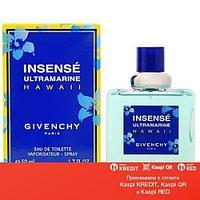 Givenchy Insense Ultramarine Hawaii туалетная вода объем 50 мл тестер (ОРИГИНАЛ)