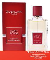 Guerlain Habit Rouge Eau de Parfum парфюмированная вода объем 100 мл в кожаном футляре (ОРИГИНАЛ)