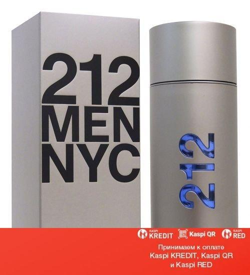 Carolina Herrera 212 NYC Men туалетная вода объем 50 мл тестер (ОРИГИНАЛ)