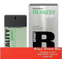 Parfums Genty Reality Sport туалетная вода объем 100 мл (ОРИГИНАЛ)