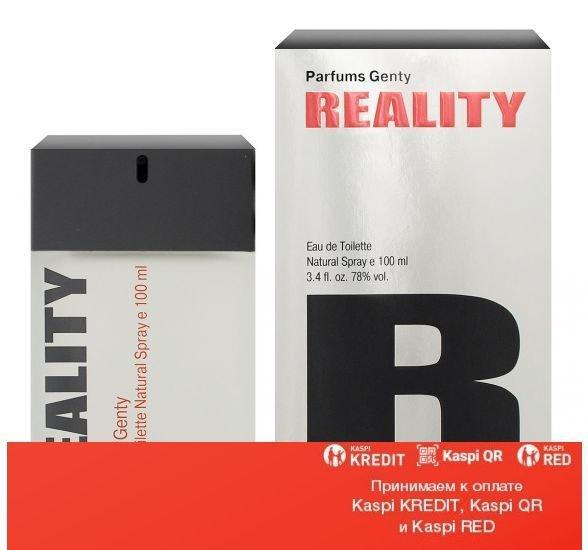 Parfums Genty Reality туалетная вода объем 100 мл (ОРИГИНАЛ)