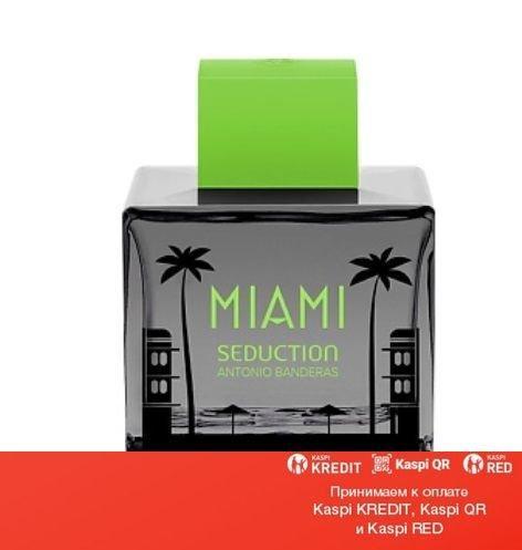 Antonio Banderas Miami Seduction In Black туалетная вода объем 100 мл тестер (ОРИГИНАЛ)