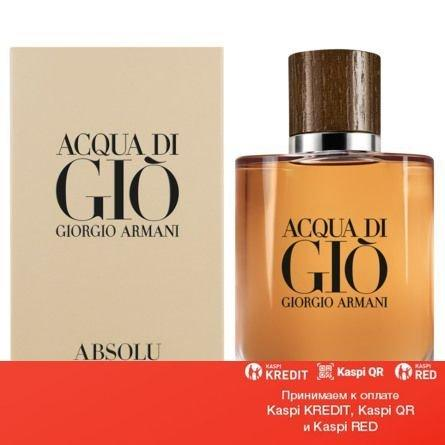 Giorgio Armani Acqua di Gio Absolu туалетная вода объем 100 мл тестер (ОРИГИНАЛ)