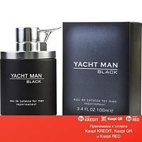Myrurgia Yacht Man Black туалетная вода объем 100 мл тестер (ОРИГИНАЛ)