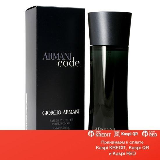 Giorgio Armani Code Pour Homme туалетная вода объем 75 мл тестер (ОРИГИНАЛ)