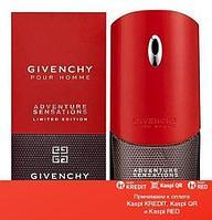 Givenchy Pour Homme Adventure Sensations туалетная вода объем 100 мл (ОРИГИНАЛ)