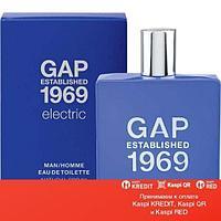 GAP 1969 Electric For Man туалетная вода объем 100 мл тестер (ОРИГИНАЛ)