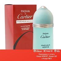 Cartier Pasha de Cartier Fraicheur Menthe туалетная вода объем 100 мл тестер (ОРИГИНАЛ)