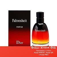 Christian Dior Fahrenheit парфюмированная вода объем 75 мл Тестер (ОРИГИНАЛ)
